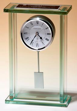 Large Glass Pendulum Clock